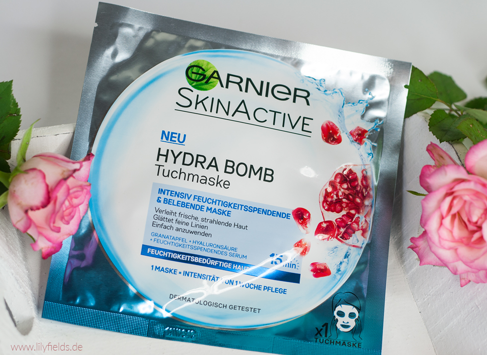 zeigt Foto der Garnier Hydra Bomb Tuchmaske