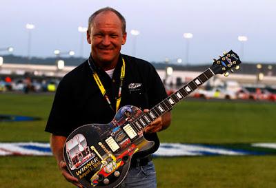 Sam Bass guitar Racing Champions 1/64 NASCAR diecast blog