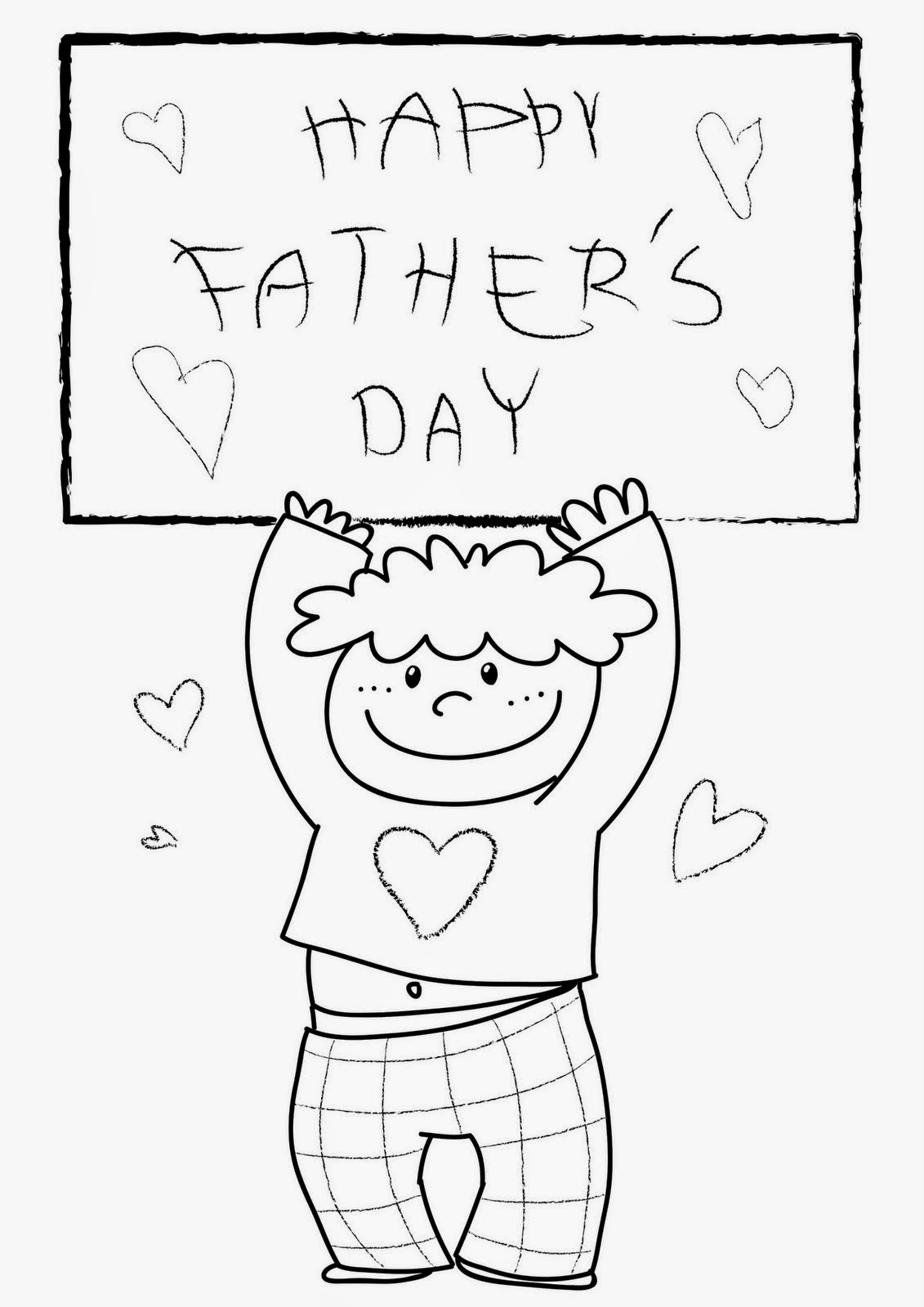 Fun Amp Learn Free Worksheets For Kid Father S Day Free Coloring Pages