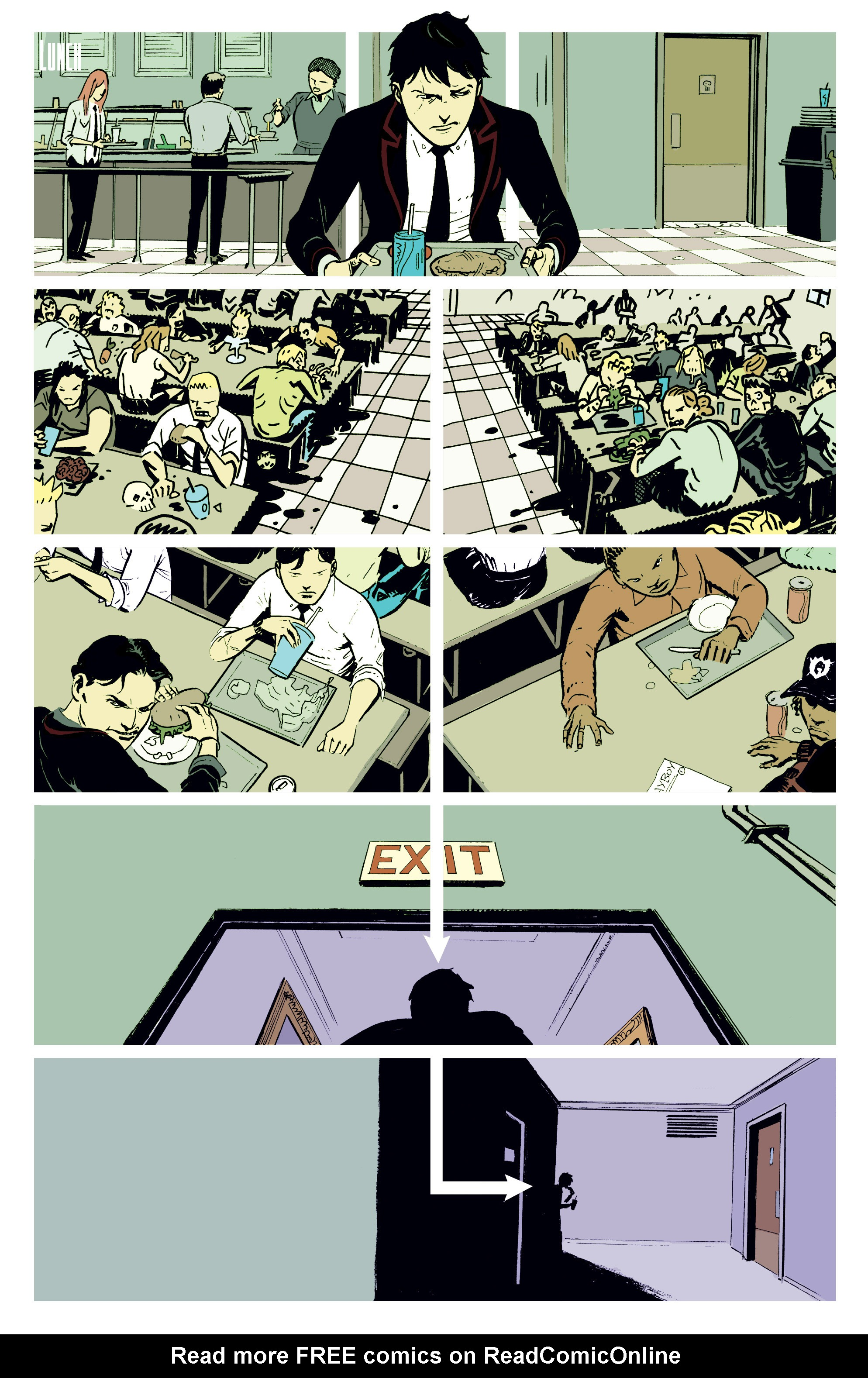Read online Deadly Class comic -  Issue #2 - 12