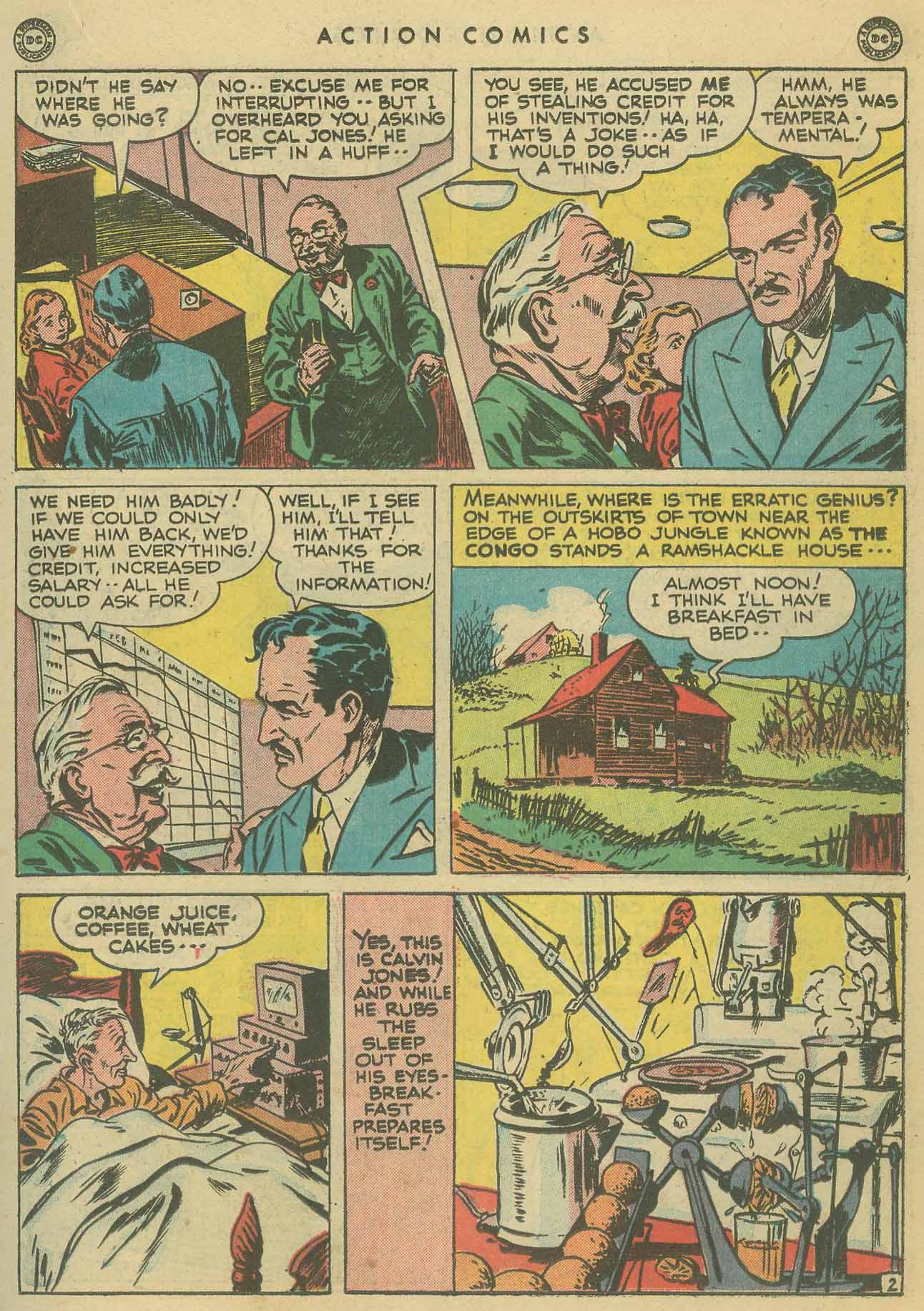 Read online Action Comics (1938) comic -  Issue #102 - 22