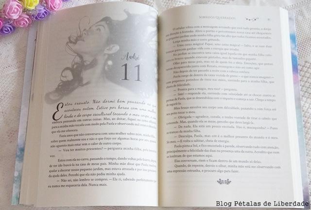 Sorrisos Quebrados, Sofia Silva, Editora Valentina