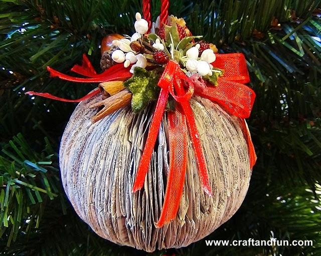 Creare Palline Di Natale Con Foto.Riciclo Creativo Craft And Fun Riciclo Creativo Degli