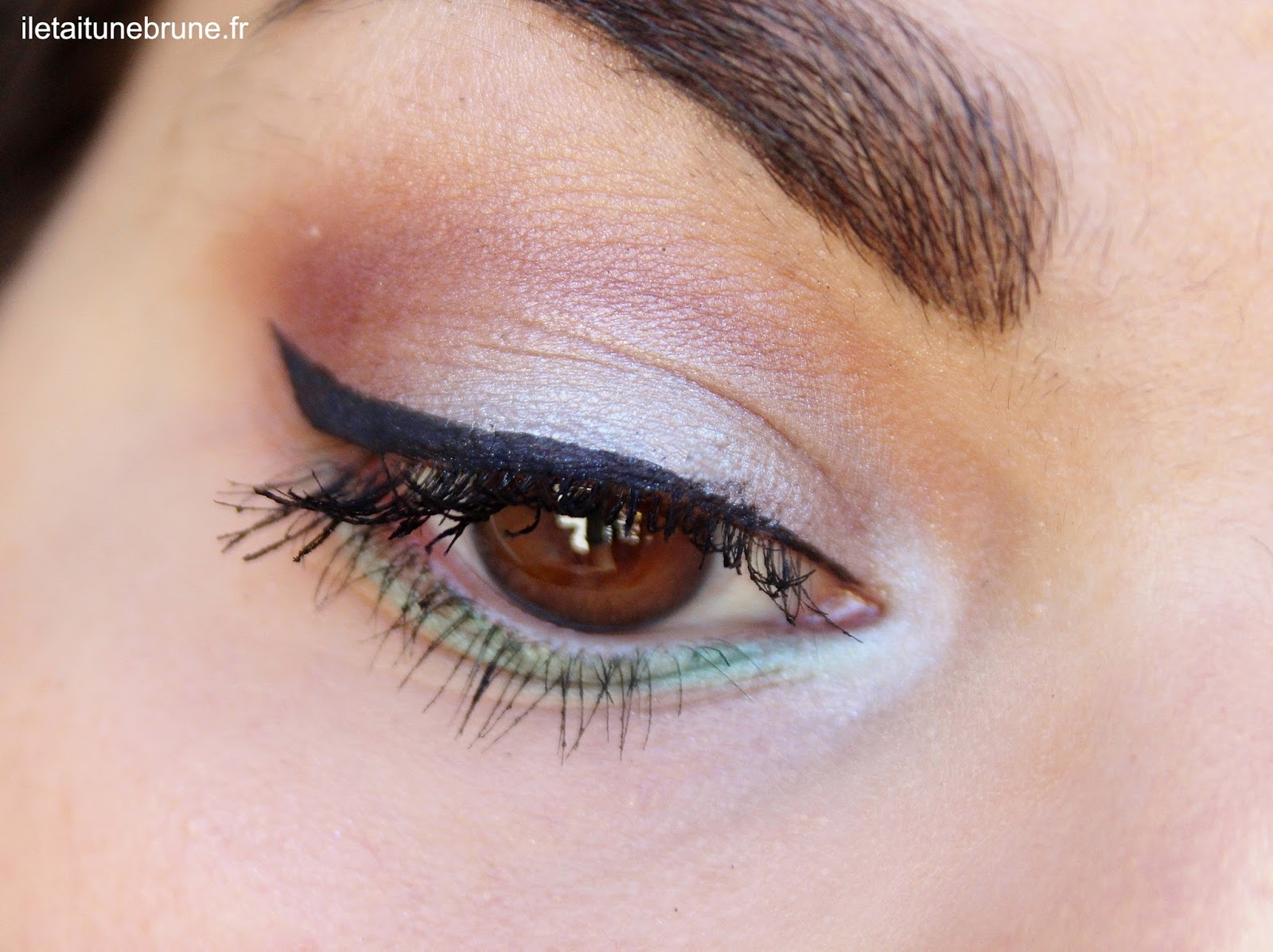 Monday Shadow Challenge bleu ciel