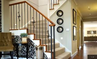 desain rumah minimalis 2 lantai: desain tangga rumah