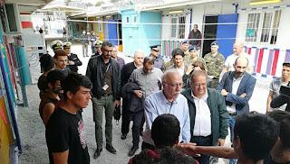 Υπ. Μεταν. Πολιτικής Δ. Βίτσας: «Στοχοποιημένη από τους διακινητές η Λέσβος»-«3000 θα είναι οι μετανάστες στην Μορια έως τον Σεπτέμβριο»