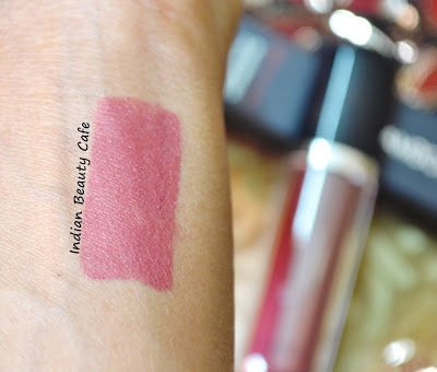 Chambor Extreme Wear Transfer Proof Liquid Lipstick Swatch of Shade 405