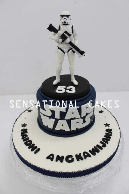 Fabulous The Sensational Cakes Storm Trooper 3D Sugar Art Cake Singapore Birthday Cards Printable Opercafe Filternl