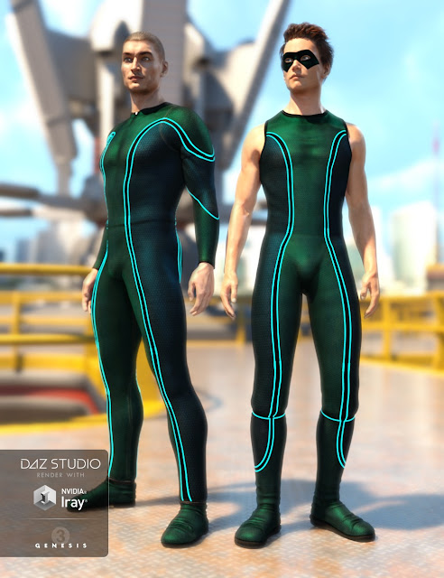 Super Bodysuit New Heroes Textures