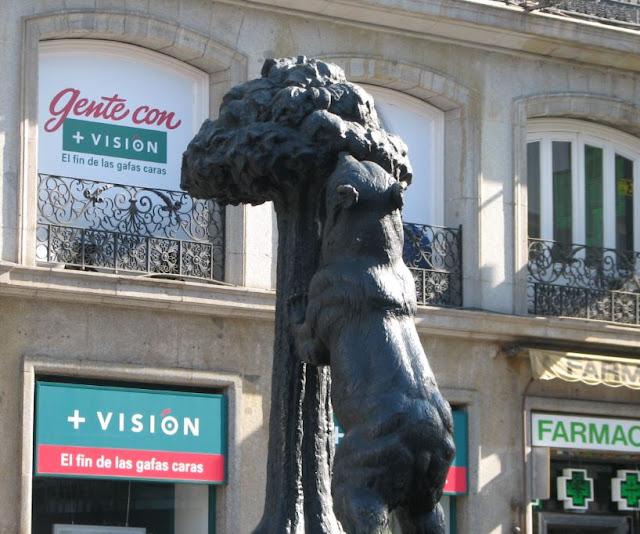 L'orso e il Corbezzolo a Madrid