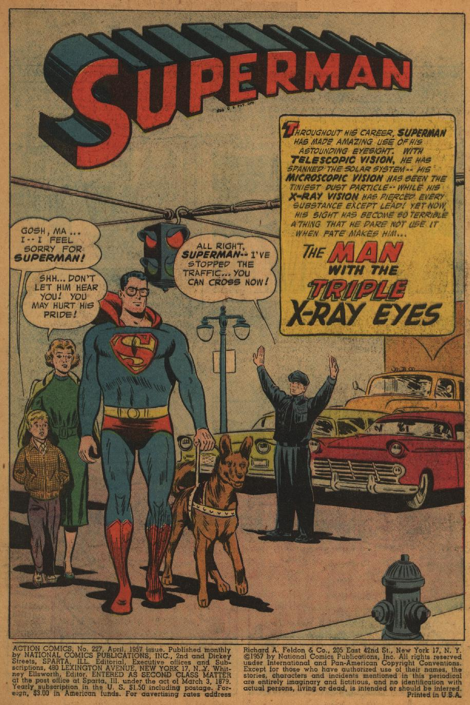 Read online Action Comics (1938) comic -  Issue #227 - 3