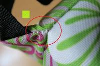 Verarbeitung: Aosbos Wasserdichte Lunch Tasche Isolierte Thermo Picknicktasche für Lebensmitteltransport(Grün Blumen)