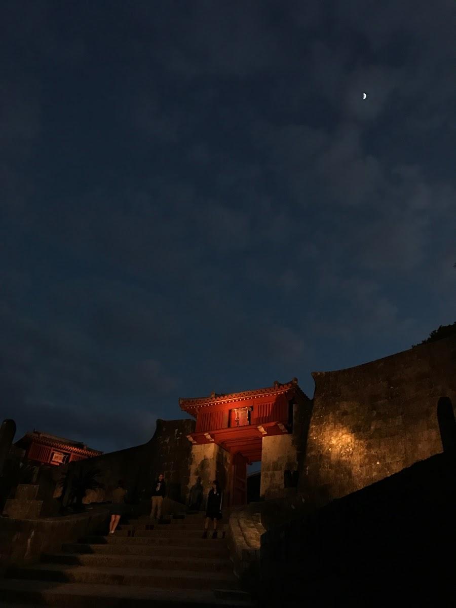 初めて訪れた、夜の首里城 | 2016-12-09 の日々雑感