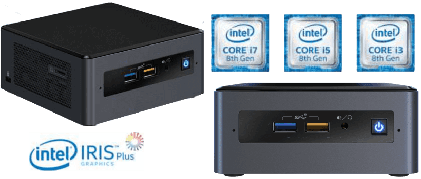Intel mini desktop PCs