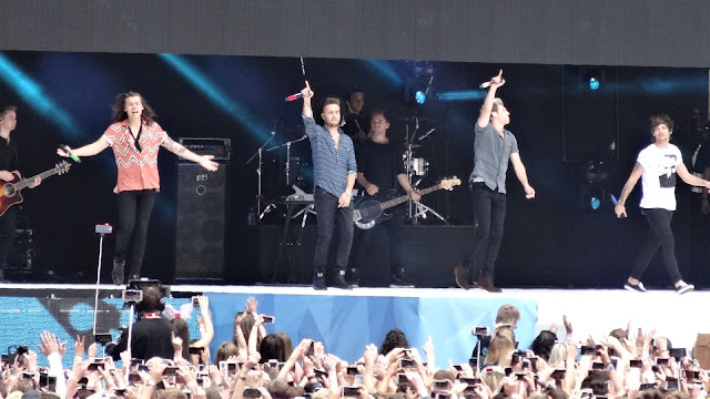 One Direction at Captials Summertime Ball 2015