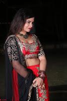 Sirisha Dasari in Red Ghagra Backless Choli ~  012.JPG