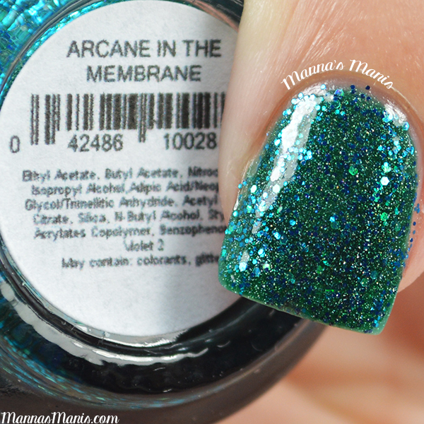 Pretty and Polished Arcane in the Membrane swatches