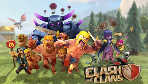 Clash of Clans 9.256.9 Terbaru Android