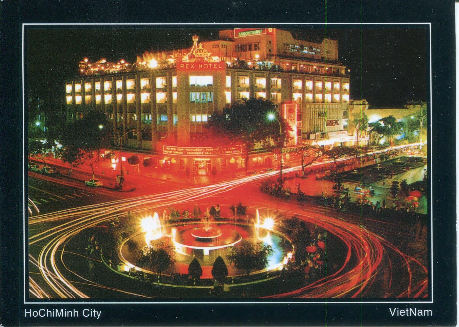 collect roc vietnam postcard rex hotel saigon