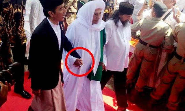 Kedekatan Presiden Jokowi dan Habib Luthfi bin Yahya