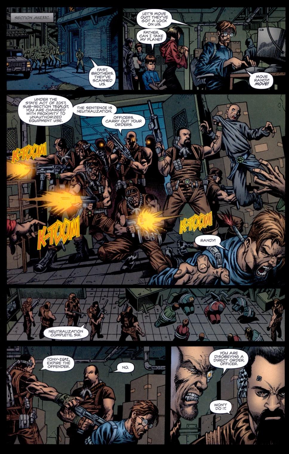 Read online Static-X: Machine comic -  Issue # Full - 6
