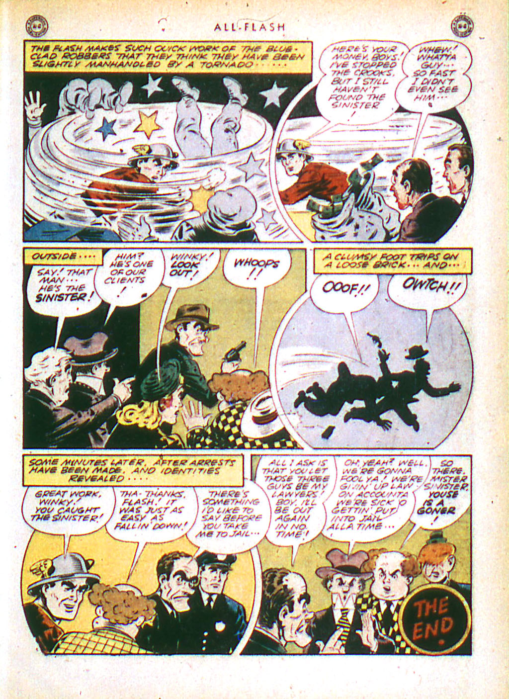 Read online All-Flash comic -  Issue #16 - 49