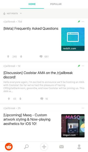 Reddit-Enhanced Reddit Enhanced is a Tweak That Shall we You Customise the Respectable Reddit App Jailbreak