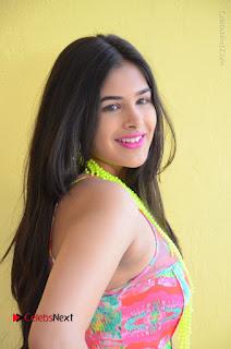 Telugu Actress Prasanna Stills in Short Dress at Inkenti Nuvve Cheppu Press Meet Stills  0018.JPG