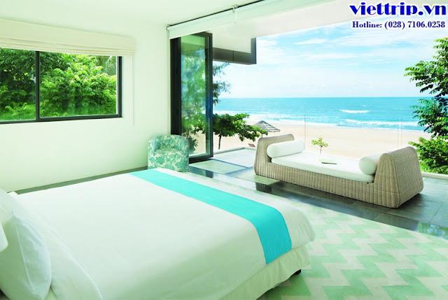 Phòng ngủ Sanctuary hồ tràm