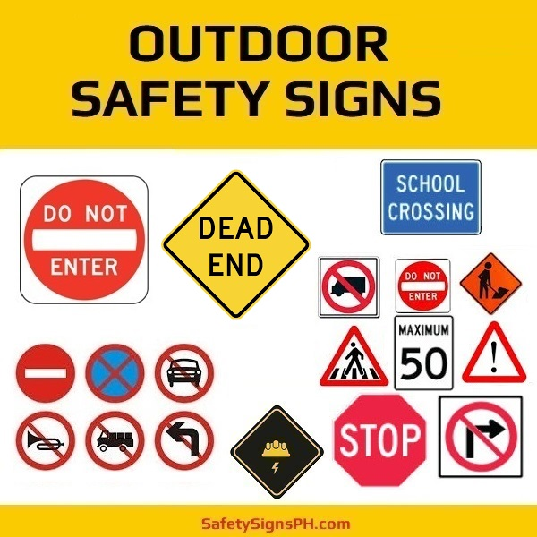 Outdoor Safety Signages