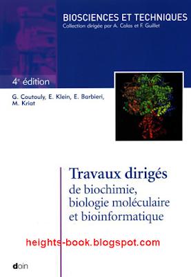 Télécharger Livre Gratuit Travaux dirigés de biochimie biologie moléculaire et bio-informatique pdf