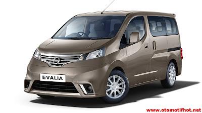 Review dan Spesifikasi Lengkap Nissan Evalia