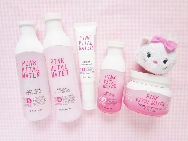Etude House Pink Vital Water Beauty Review
