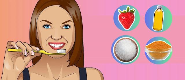 Λεύκανση δοντιών στο σπίτι με φυσικό τρόπο!