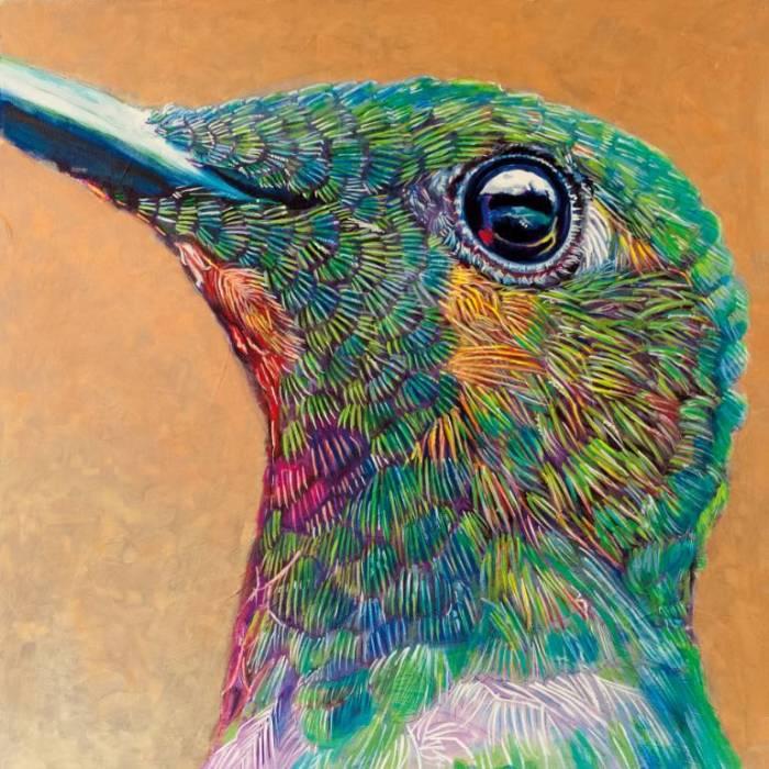 Американский художник. Dwight Luna