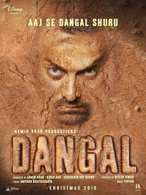 Poster of Dangal 2016 Full Movie Free Download In Hindi Hd 1080p