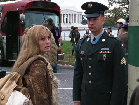 Jenny Curran (Robin Wright) y Forrest Gump (Tom Hanks) - Cine de Escritor