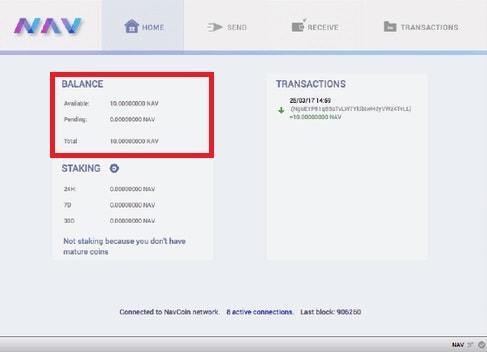 Comprar y Guardar en Wallet criptomoneda NAVCOIN