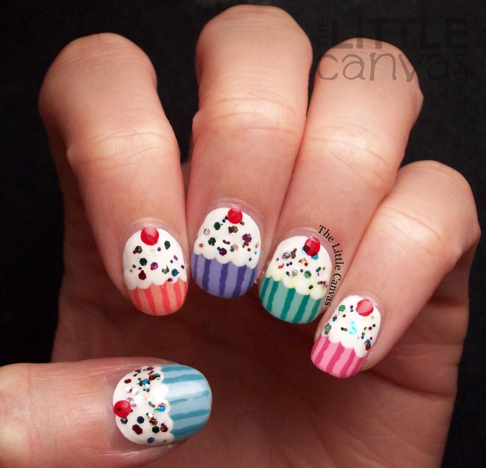 Cupcakes Nails!