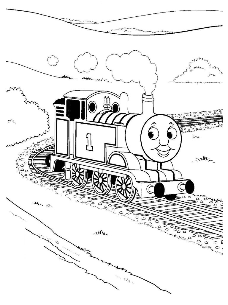 thomas and friends coloring page - thomas and friends coloring pages realistic coloring pages