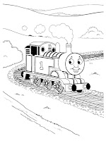 Thomas And Friends Kids Coloring Sheet