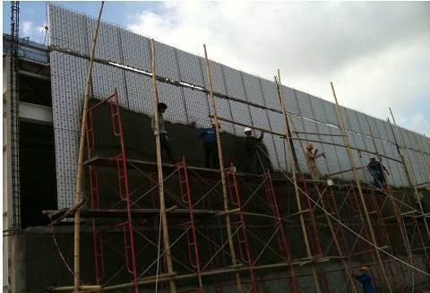 Tường bao Panel 3d Siêu thị