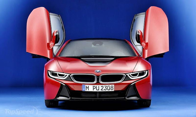 BMW i8 Protonic Red Edition Review