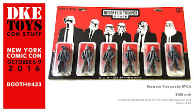 New York Comic Con 2016 Exclusive Reservoir Stormtrooper Star Wars Bootleg Resin Figures by RYCA x DKE Toys