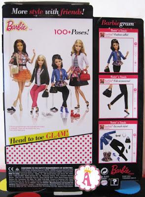 Коробка с куколкой Ракель из серии Barbie Style 2015 года