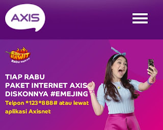 Paket Rabu Rawit Axis, Cara Daftar dan Harga Terbaru 2018