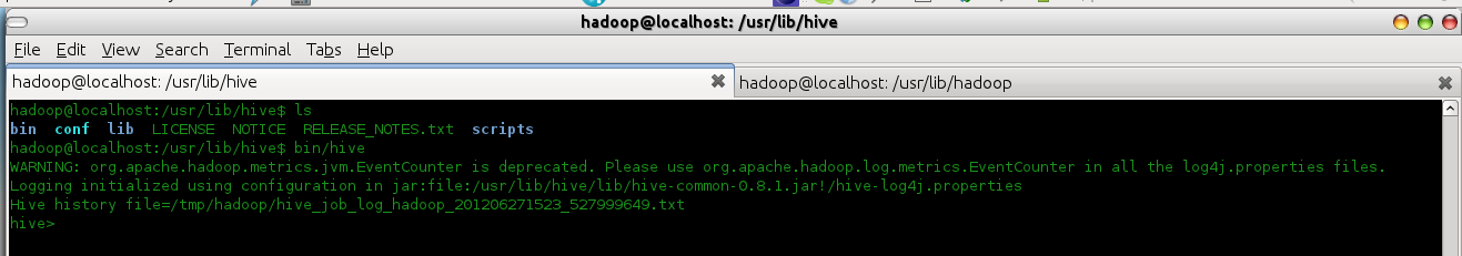 Apache Bigtop - Installing Hive, HBase and Pig   Java Code