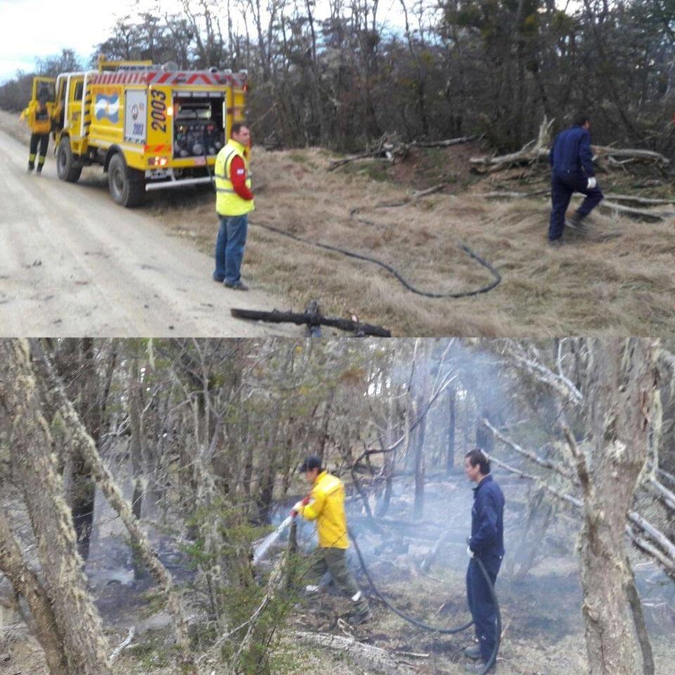 Comenzaron los incendios forestales
