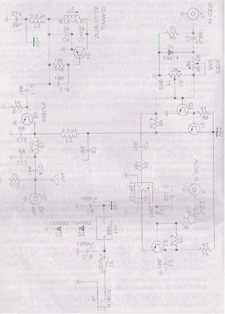 Ramsey TV6C Analog Television Transmitter Kit | ToughDev