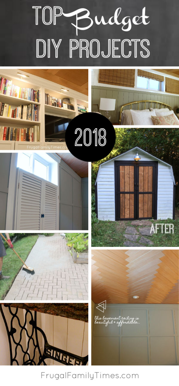 Our top projects of 2018 all are budget friendly - Home improvement ideas 2018 ...